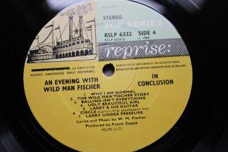 An Evening With Wild Man Fischer 1st UK Press Reprise Mint Vinyls