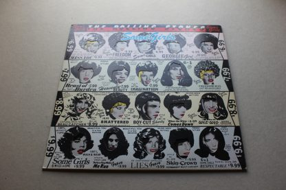 Rolling Stones Some Girls 1st UK Withdrawn Cover Mint Vinyl