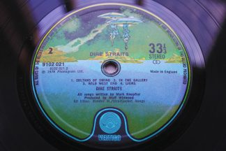 Dire Straits Debut 1st UK Vertigo Spaceship Mint Audio/ Vinyl