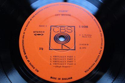 Soft Machine Fourth 1st UK Pressing CBS Top Audio