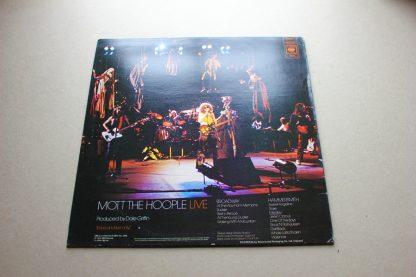 Mott The Hoople Live 1st UK Press Mint Archive CBS s 69093