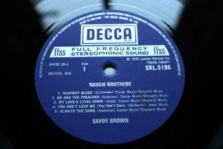 Savoy Brown Blues Band Boogie Brothers 1st UK Press MiNt Archive