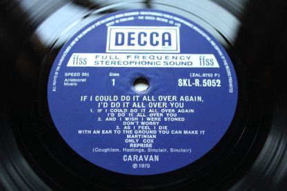 Caravan If I Could Do It I Would Do It All Over You 1st UK Mint ArChIvE