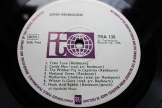 ohn Renbourn Debut Album 1966 1st UK Transatlantic TRA 135 Top Copy