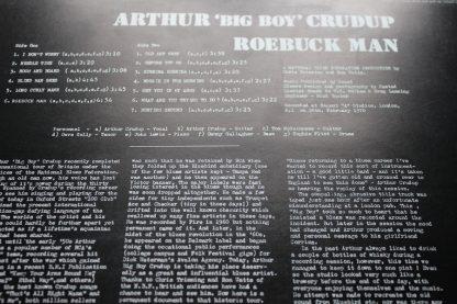 Arthur Crudup Roebuck Man 1st UK Press Mint ArChIvE BLUES
