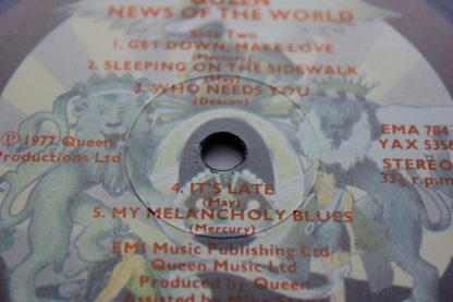Queen News Of The World 1st UK Press Mint Archive