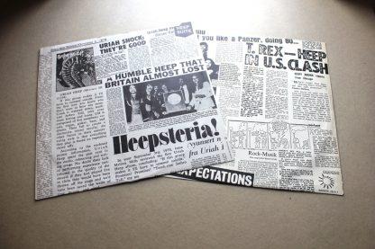 Uriah Heep Live 1st UK Press MiNt ArChIVe 1973 Bronze Labels