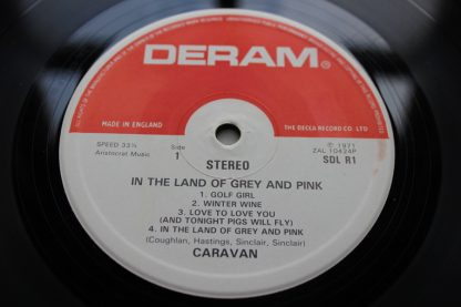 Caravan Land Of Grey and Pink UK Press Cat No SDL-R1 Red Labeled DERAM