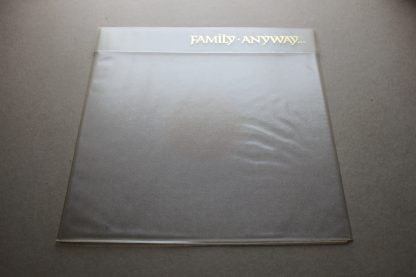 FAMILY ANYWAY 1st UK PRESS 1970 Reprice Mint ArChIvE With Poster