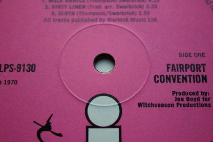 Fairport Convention Full House 1st UK Press 1970 Folk Prog MiNt AuDiO Archive