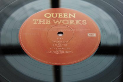 Queen The Works 1st UK Press EMI A-1 B-1